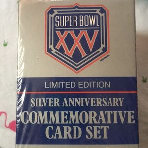 🆕 Super Bowl XXV  Card Set- NY Giants- Bills